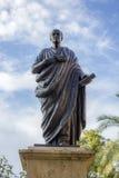 Staty av Seneca i Cordoba Arkivfoto