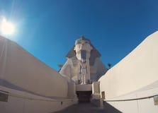 Staty av sfinxen från Luxor Royaltyfri Bild