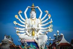 Staty av Shiva på Koh Samui Royaltyfri Fotografi