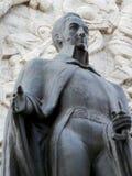 Staty av Simon Bolivar, självständighetmonument, Los Proceres, Caracas, Venezuela arkivbild