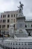 Staty av skulpturtekniker D Francisco de Albear y Lara som var ansvarig för havannacigarraquaduct royaltyfri bild