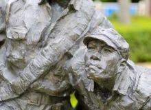 Staty av soldatanfall Royaltyfri Foto