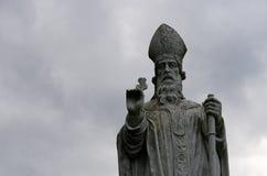 Staty av St Patrick Royaltyfri Bild