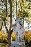 Staty av Suintila i Madrid Royaltyfri Fotografi