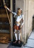 staty av universitetsläraren Quixote royaltyfria foton