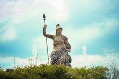 Staty av Venus med ett spjut Royaltyfri Bild