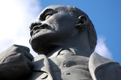 Staty av Vladimir Lenin Arkivfoto