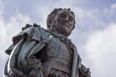 Staty av Walter Montagu Douglas Scott, Edinburg Skottland UK Royaltyfria Bilder