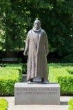 Staty av Willem van Oranje på den Prinsenhof delftfajans Royaltyfri Foto