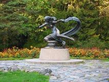 Staty - Egle drottningen av ormar, Litauen Royaltyfria Foton