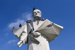 staty för bishop porto s royaltyfria bilder