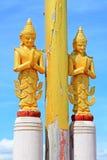 Staty för Buddha för Bagan Archaeological Zone ` s, Myanmar Royaltyfri Fotografi
