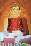 Staty för Buddha för Bagan Archaeological Zone ` s, Myanmar Royaltyfri Bild