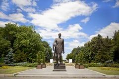 staty för charles gaullepark Arkivbild