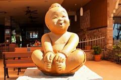 Staty för dekorativ sten fotografering för bildbyråer