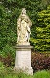 Staty för drottning Victoria, Abingdon Fotografering för Bildbyråer