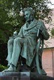 Staty för filosof- och författareSøren Kierkegaard ` s i Köpenhamnen, Danmark arkivfoton