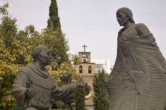 staty för guadalupe mexico uppenbarelserelikskrin Royaltyfri Bild
