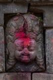 Staty för gudinnastenskulptur Arkivfoto