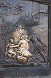 staty för john nepomukst Arkivbild