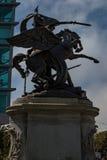 Staty för Kalifornien volontärbrons Royaltyfri Fotografi