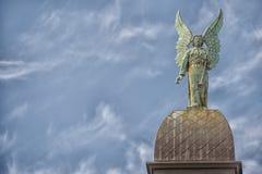 Staty för Montreal kyrkakoppar Arkivfoto