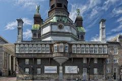 Staty för Montreal kyrkakoppar Arkivfoton