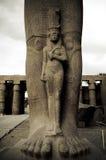 staty för princess för bityegypt karnak arkivfoton