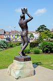 Staty för prins Hal, Stratford-på-Avon Arkivbild