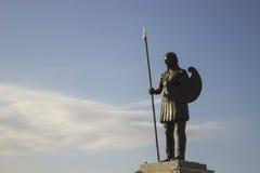 Staty för Samsun amasonkvinna Royaltyfria Foton