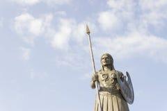 Staty för Samsun amasonkvinna Arkivbilder