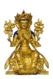 Staty för tibetan buddism Arkivbild