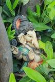 Staty f?r Lord Ganesha royaltyfria bilder