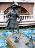 Staty från fary saga Arkivbilder