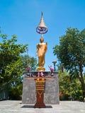 staty för ställing för abhayabuddha mudra Arkivbild