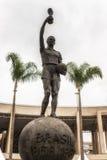 Staty framme av Maracana stadion, arkivbilder