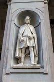 Staty Giotto di Bondone, Florence, Italien Royaltyfri Foto