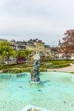 Staty gnomen i Gmunden, Österrike Royaltyfri Foto