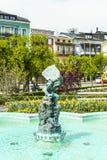 Staty gnomen i Gmunden, Österrike Arkivbild