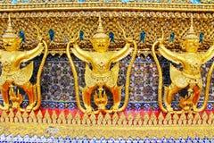 Staty i den storslagna slotten, Bangkok, Thailand Royaltyfri Foto