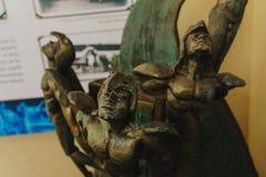 Staty i det Militar museet Royaltyfri Bild