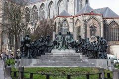 Staty i Ghent, Belgien Arkivfoton