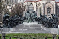 Staty i Ghent, Belgien Royaltyfri Fotografi