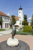 Staty i Godollo Fotografering för Bildbyråer
