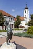 Staty i Godollo Arkivfoto