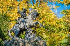Staty i Grenoble Royaltyfria Bilder