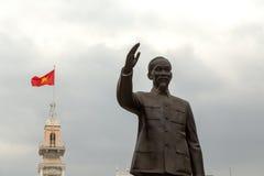 Staty i Ho Chi Minh City Arkivfoton