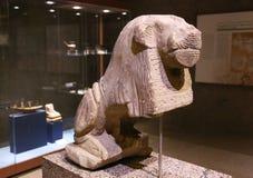 Staty i museum av Nubia Egypt Royaltyfri Foto