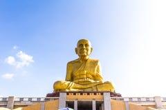 Staty i tempelet Royaltyfria Foton