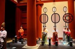 Staty inom av Osaka Museum av historia eller Osaka Rekishi Hakubu fotografering för bildbyråer